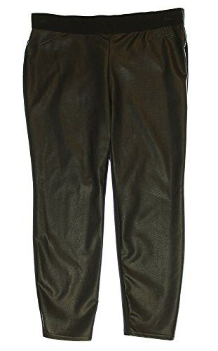 15736f8a052 Alfani Women s Plus Size Faux Leather Snakeskin Ultra Skinny Pants 18w Black