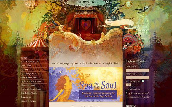 40 Beautiful Watercolor Effects in Web Design