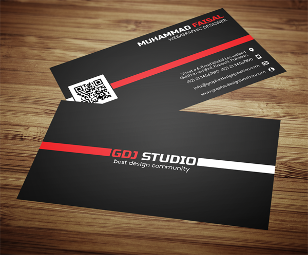 Business Card Front and Back Mockup PSD | Freebies & Downloads ...