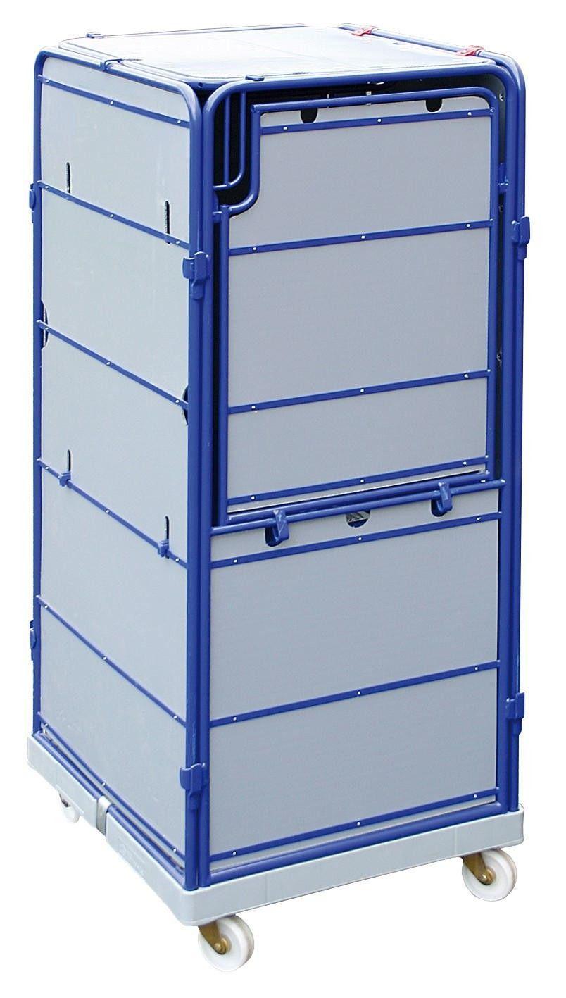 Rollbox kunststoff  GTARDO.DE: Logistik-Rollbox auf Kunststoff-Rollplatte, TxBxH ...