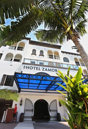 The New Hotel Zamora At 3701 Gulf Blvd In St Pete Beach Is