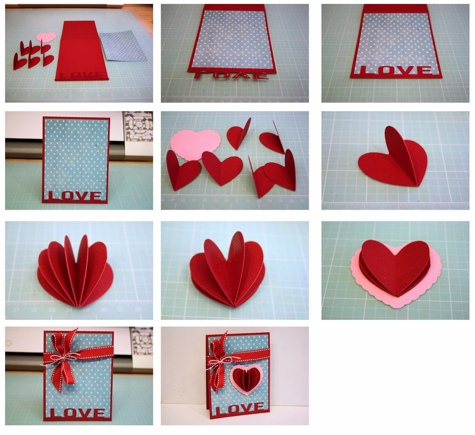 fold out heart cards Google Search