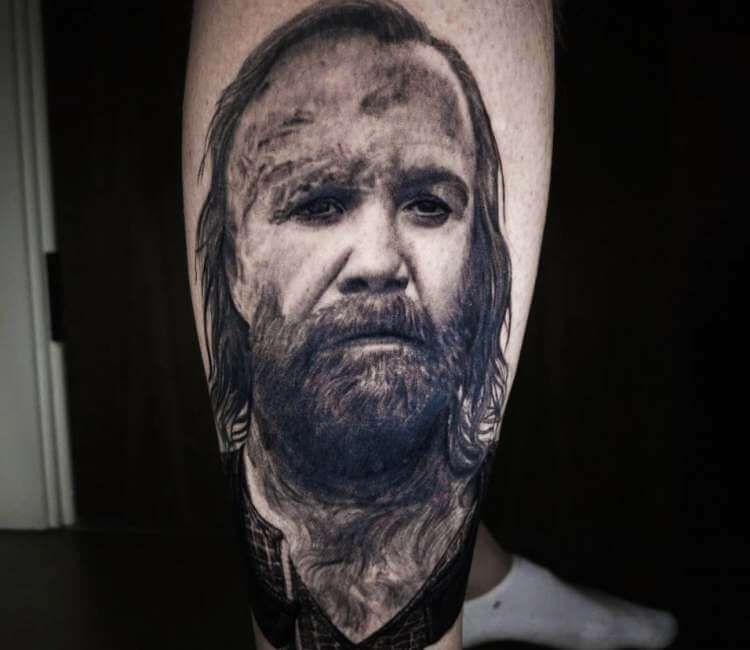 The Hound Tattoo By Carlos Rojas Post 21619 In 2020 Black And Grey Tattoos Tattoos Badass Tattoos