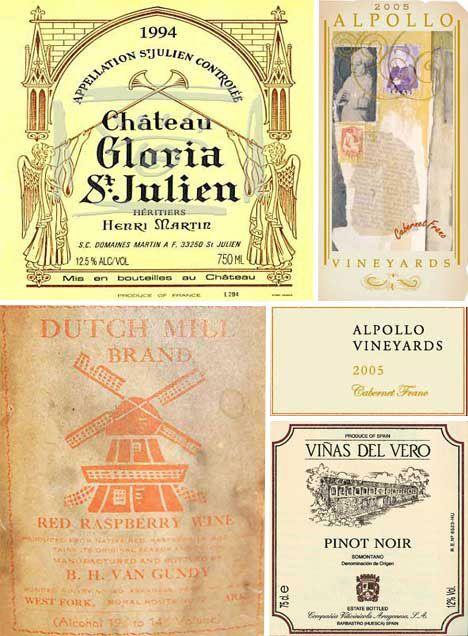 Vintage Wine Labels Wine Label Design Vintage Wine Label Artistic Wine Labels