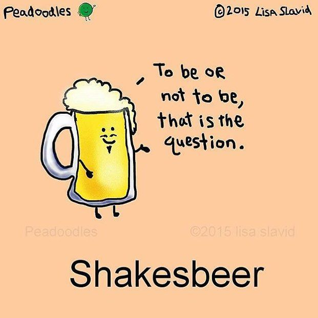 Funny Pun: Shakesbeer | {Quotes & Sayings} Funny Puns ...