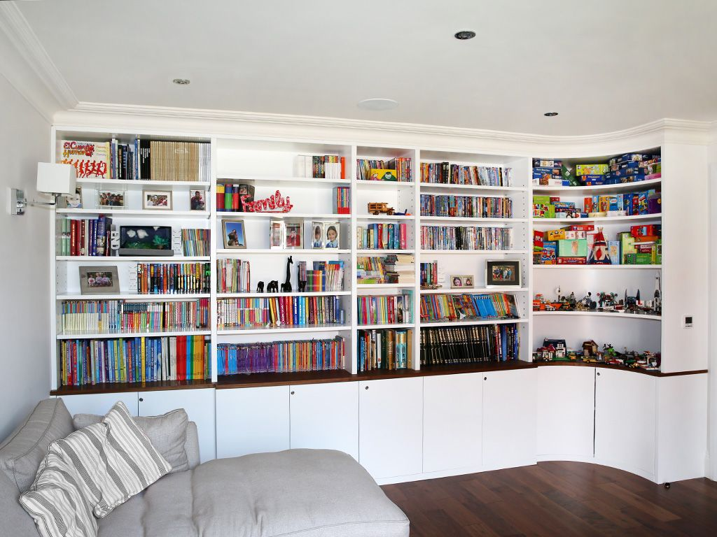 Bespoke Built In Bookshelves Bespoke Bookcases London Furniture Artist Design Moderne Decoration