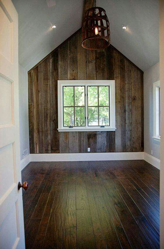 Barnwood Accent Wall Love House Barn Siding House Design