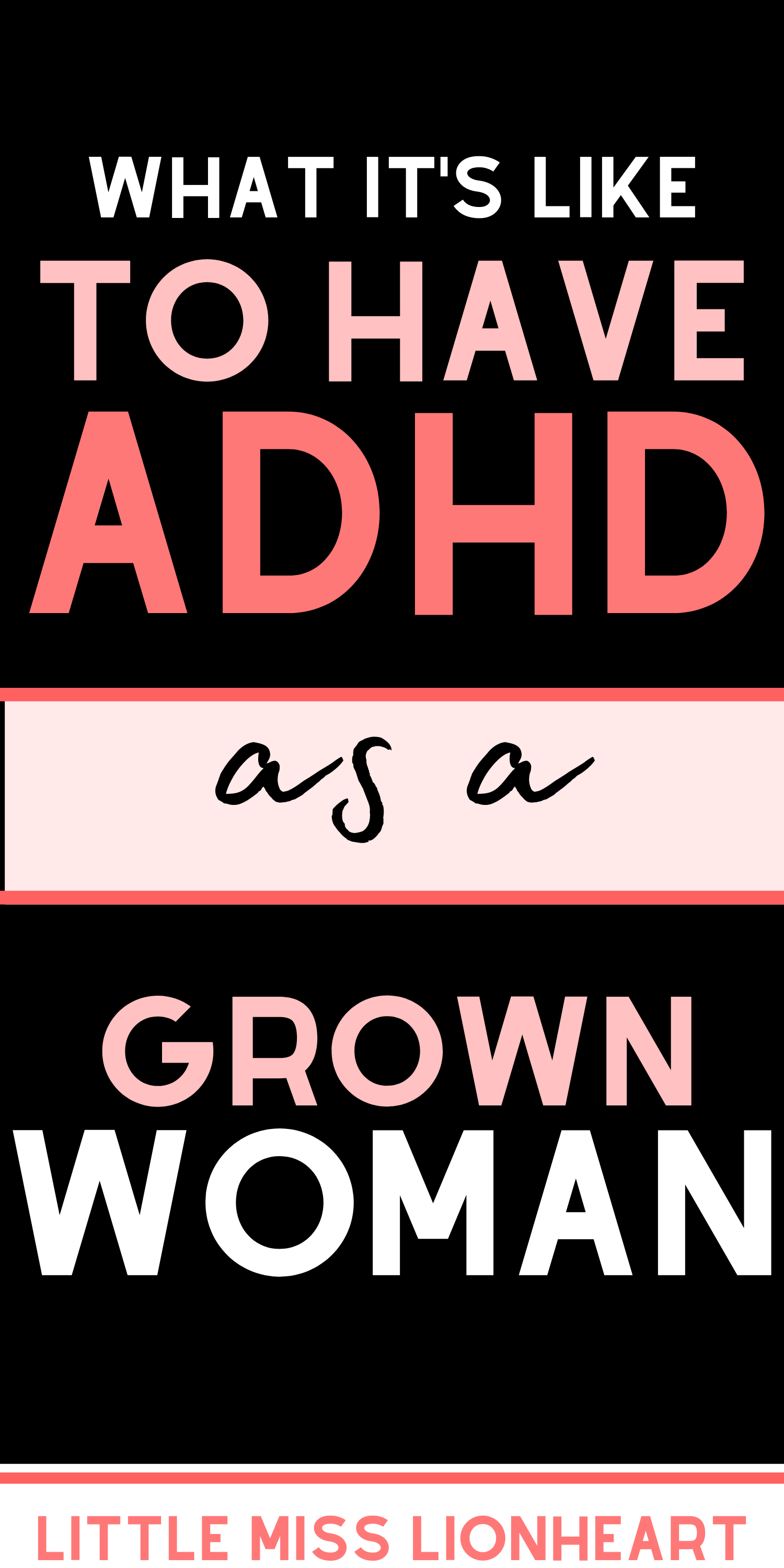 Signs of ADHD in Women