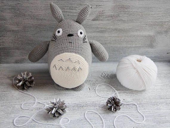 Amigurumi Totoro : My neighbor totoro gift crochet totoro amigurumi toy totoro ami