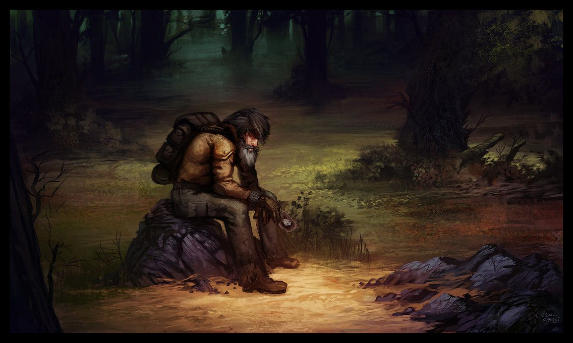 The old hermit by reneaigner inspiration for writing pinterest
