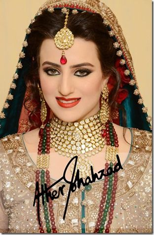 Ather Shahzad Bridal Look 2015 2016 Bridal Makeup Latest Bridal Makeup Bridal Photoshoot