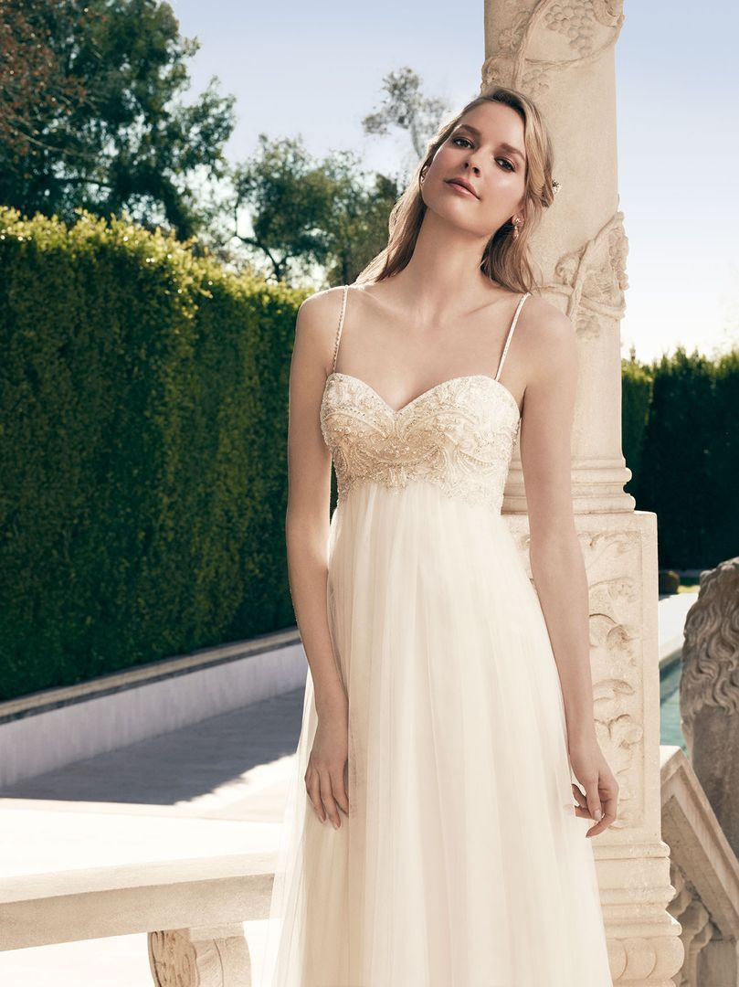 Style 2172 from Casablanca Bridal - Two in One Wedding Gowns with ...