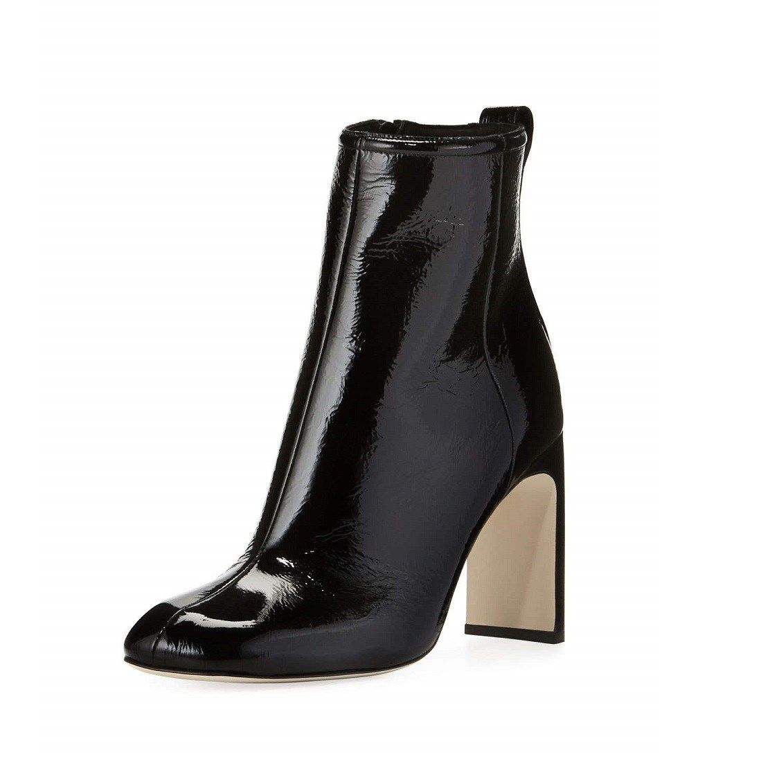 Leather ankle boots, Boots