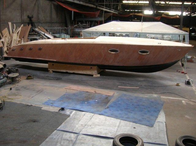 Mahogany Runabout Boat Plans | Runabout boat, Boat ...