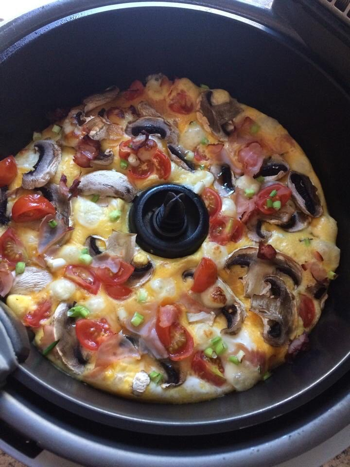 Actifry Farmhouse Pizza Omelette Sw Website Recipe Actifry Recipes Recipes Actifry