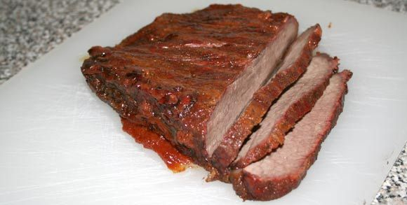Smoked Brisket on a Traeger Lil' Texas Grill/Smoker ...