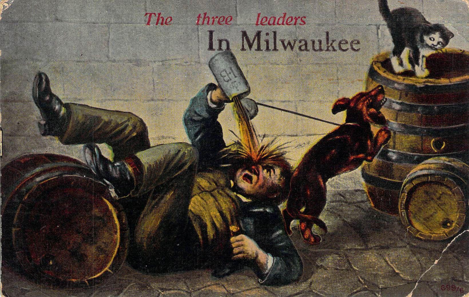 The Three Leaders In Milwaukee Milwaukee, WI Vintage