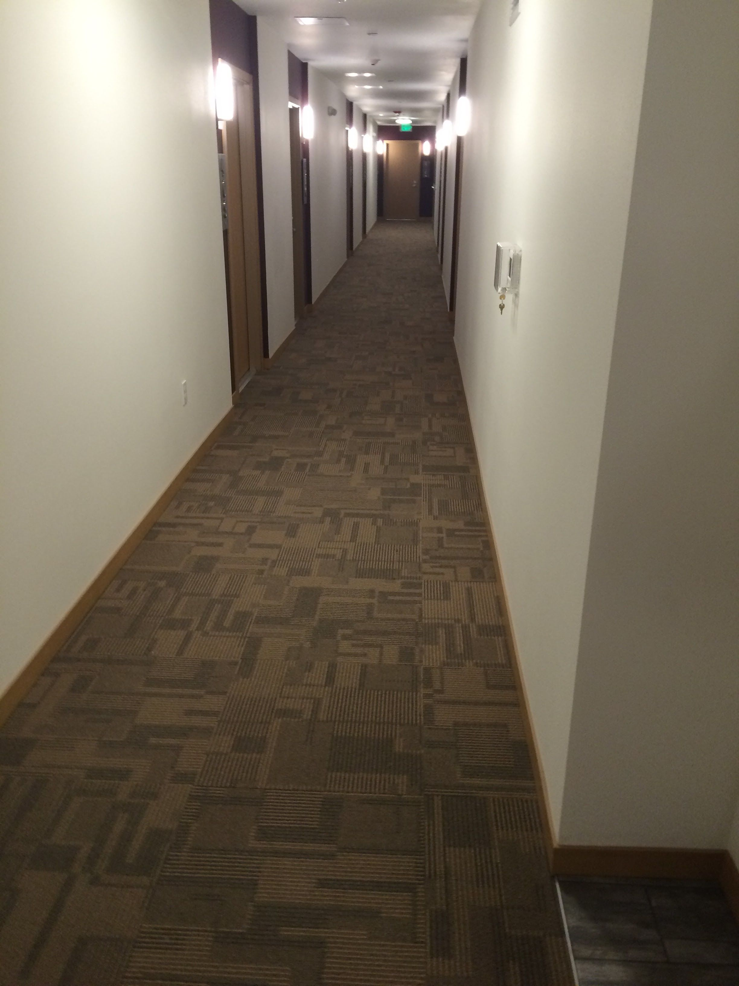 Bolyu Survey Carpet Tile Installed In Corridors At Junction Flats Apts West Seattle