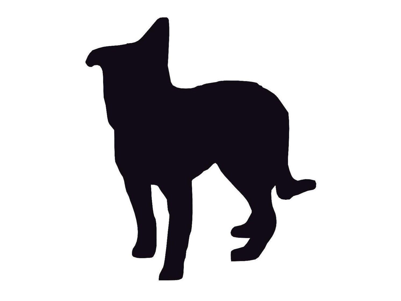 10 Collie Dog Die Cut Cardmaking Scrapbooking DIY Craft ...