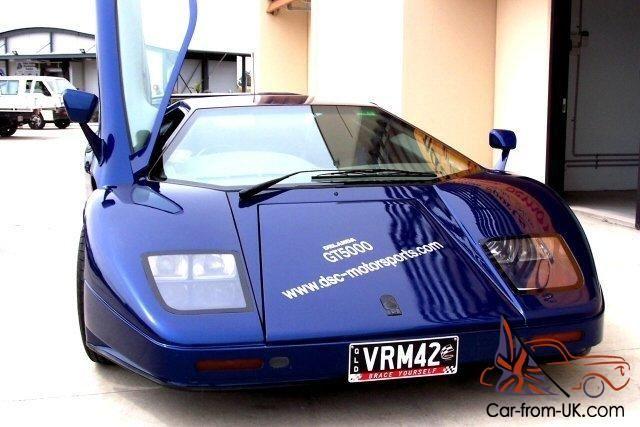 Widebody Lamborghini Countach Replica Race Car Ferrari Porsche Lamborghini Countach Lamborghini Car