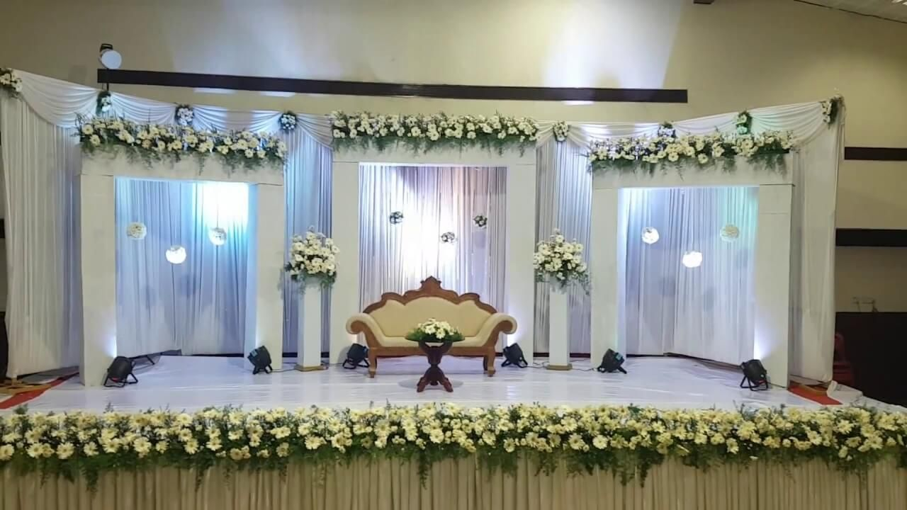 Best Stage Decoration Ideas For A Wedding In 2018 And After Simple Stage Decorations Engagement Stage Decoration Wedding Stage Design
