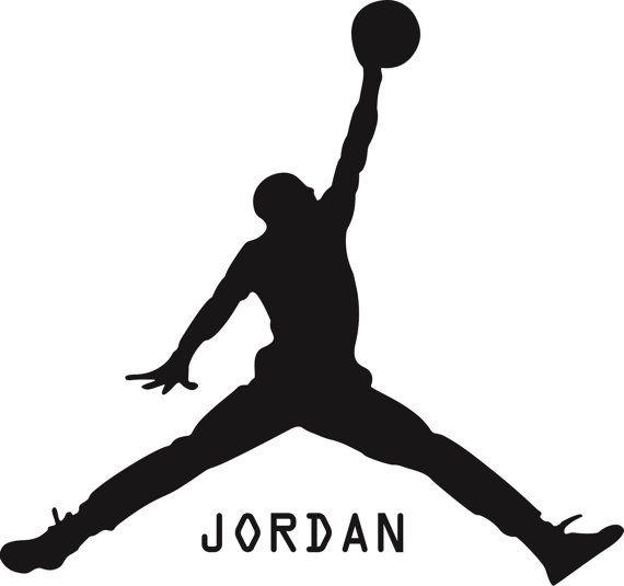 New Michael Jordan Basketball Black Wall Decal Wall Stickers