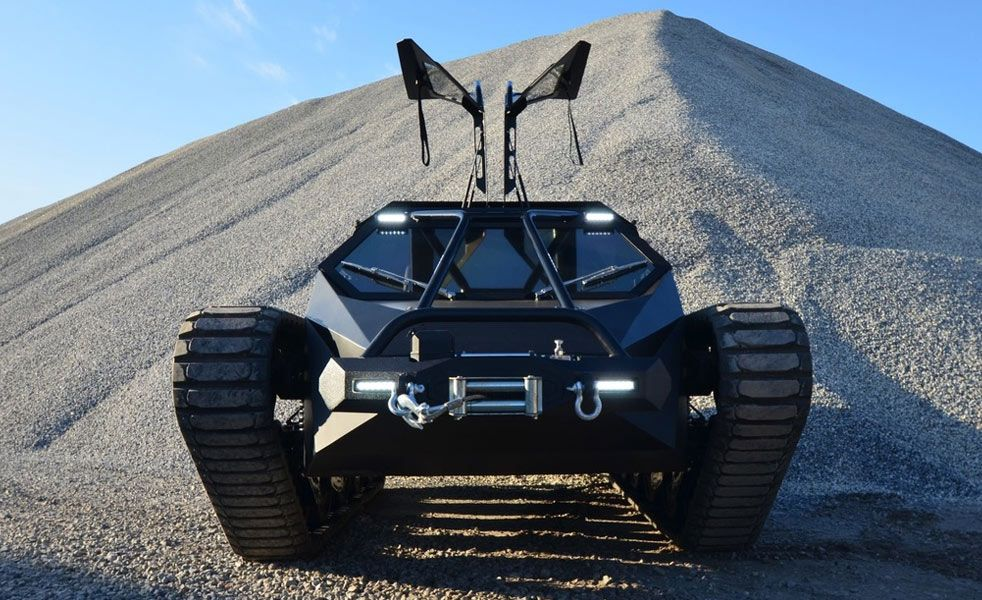 The Ripsaw EV Is A Drifting And Jumping Tank Dream Cars And Cars - Cool cars jumping