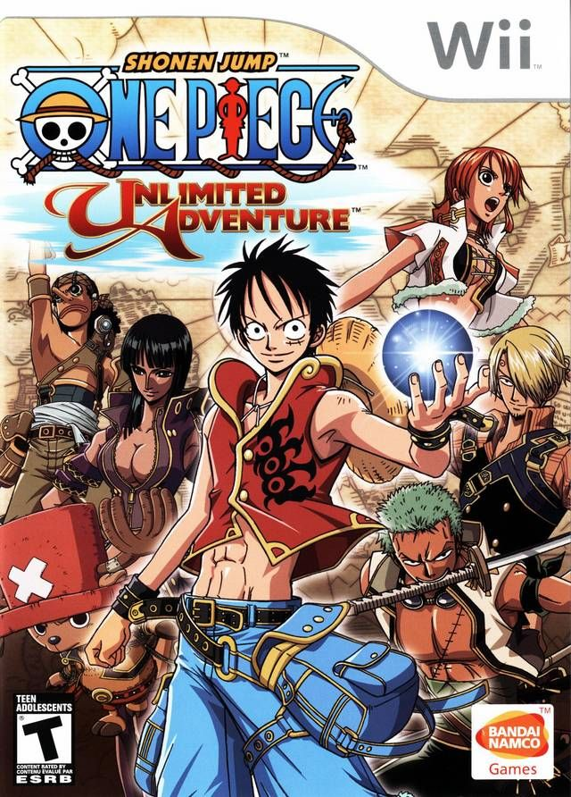 Wii One Piece Unlimited Adventure Jojo's bizarre