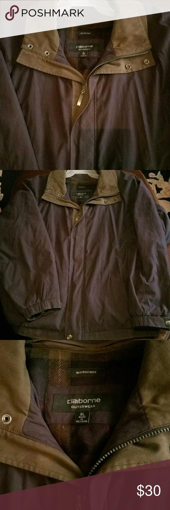 Liz Claiborne Mens Coat Liz Claiborne Mens Microfiber Coat With Removable Flannel Liner Mens Size Xl Liz Claiborne Jackets Liz Claiborne Mens Coats Claiborne [ 1740 x 580 Pixel ]