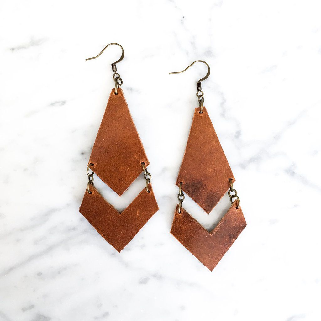 Photo of Willow Leather Earring