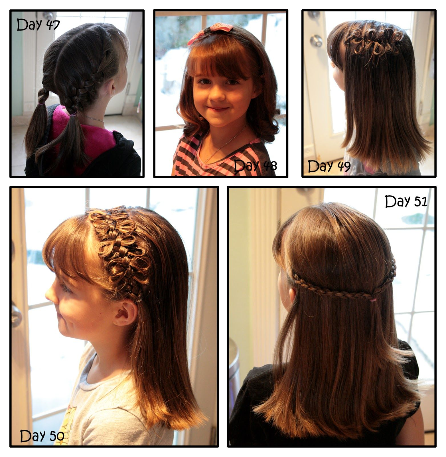 Girly Do Hairstyles By Jenn Days 47 51 Hair Styles Little Girl Hairstyles Girl Hairstyles