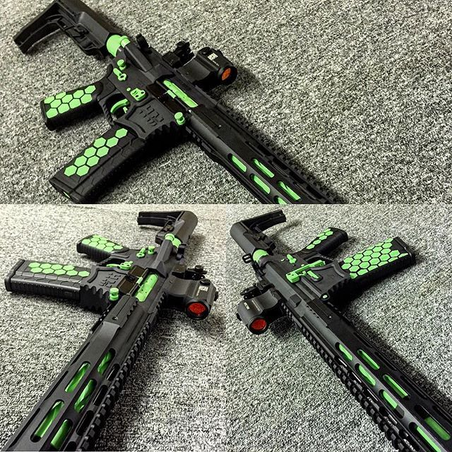 Enhanced lower parts kits with 3lb drop in triggers available in