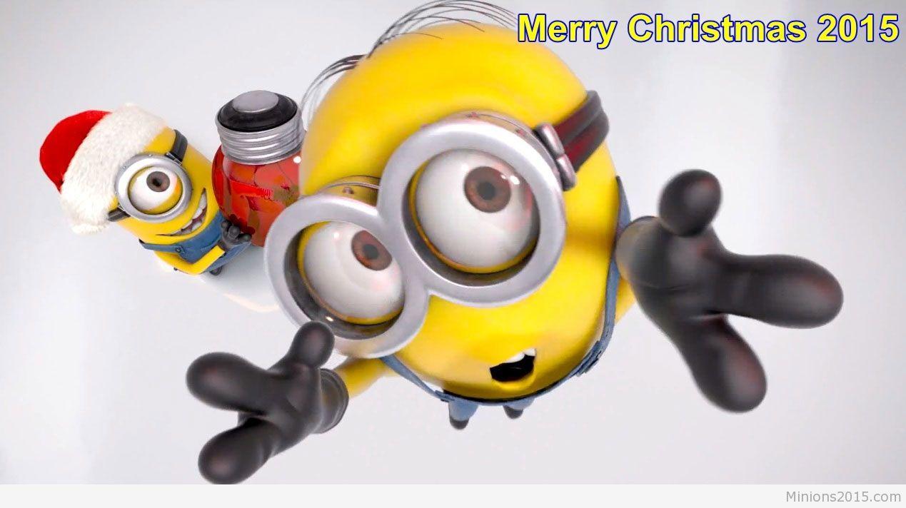 minions xmas mobile wallpaper. | Minions christmas mobile ...