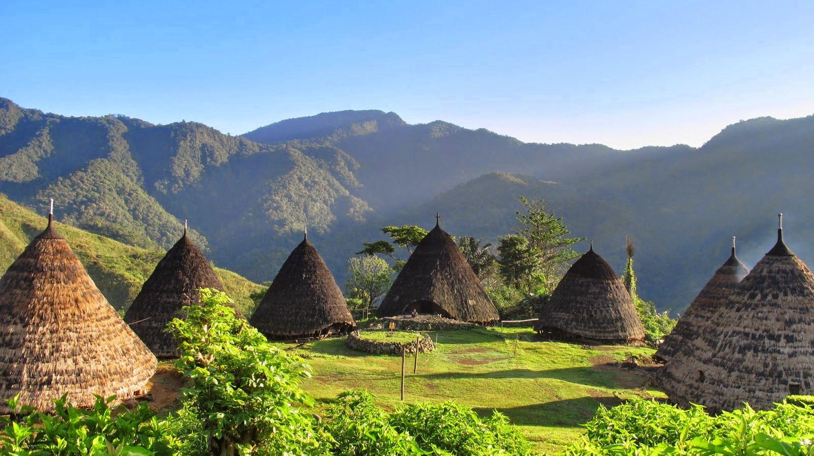 Ragam Wisata Dan Kuliner Indonesia Wisata Desa Wae Rebo Flores Ntt Pedesaan Pemandangan Foto Wisata
