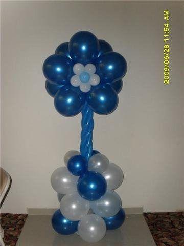 Columnas y arcos de globos decoracion con globos - Globos para fiesta ...