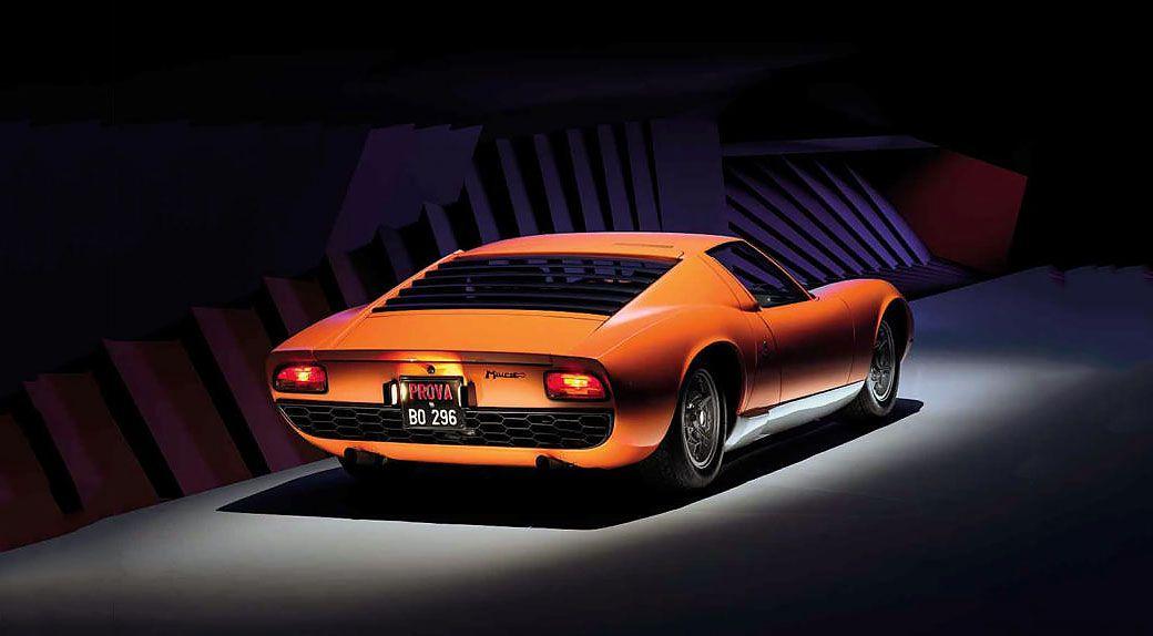 1968 Lamborghini Miura P400 Rear Cars Lamborghini Lamborghini