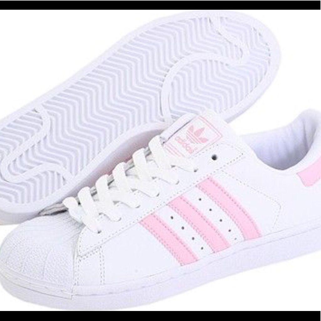adidas superstar color pink