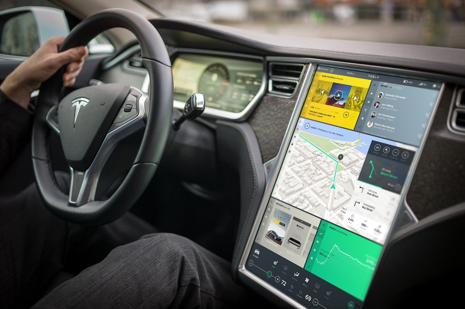 It's time for car infotainment interfaces to arrive in