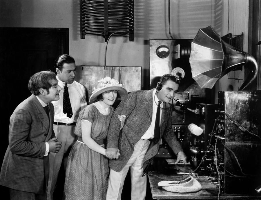 Silent Film Radio 1920s By Granger With Images Radio Silent