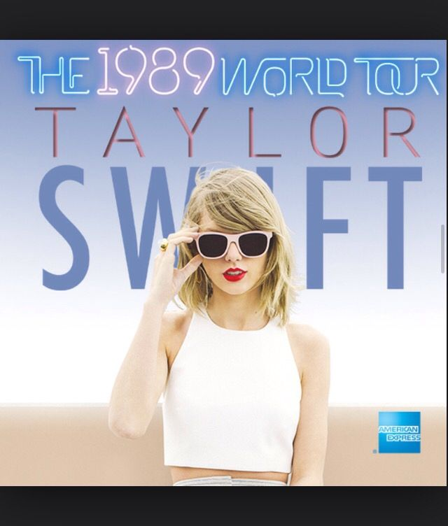 Taylor Swifts 1989 world tour picture