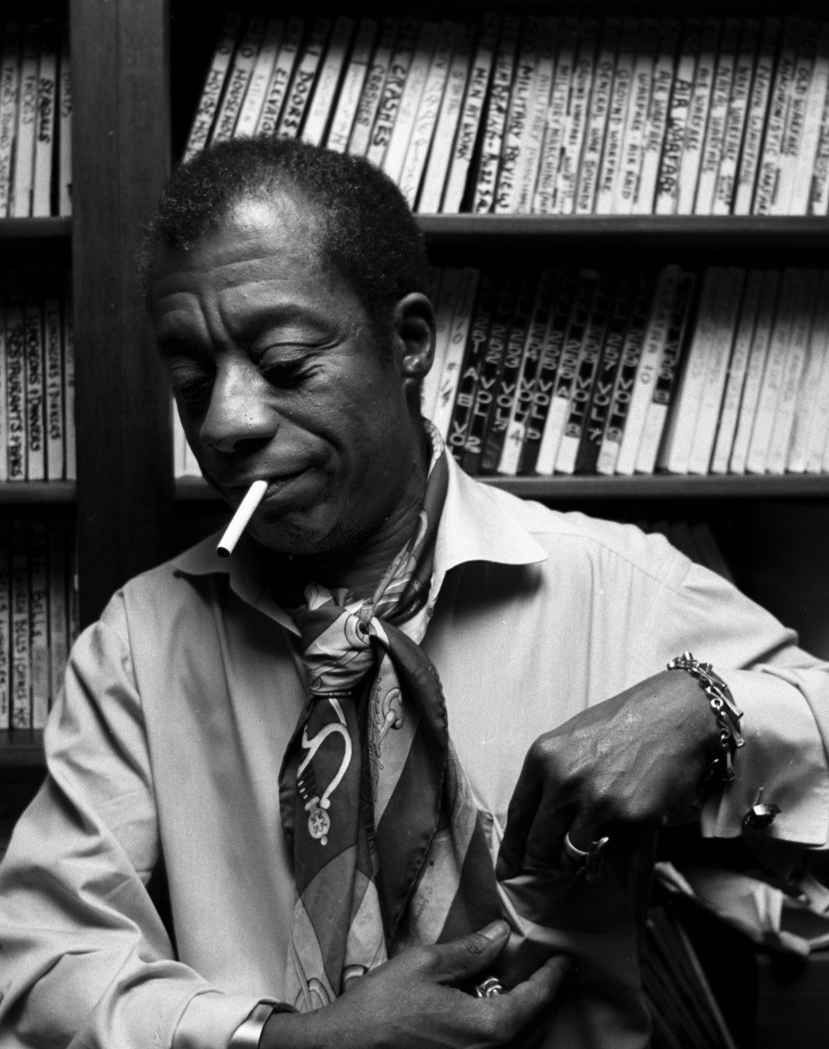 Black Writer Baldwin