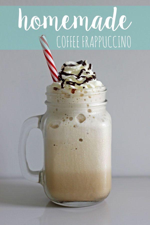 Homemade Frappuccino #ketofrappucinostarbucks