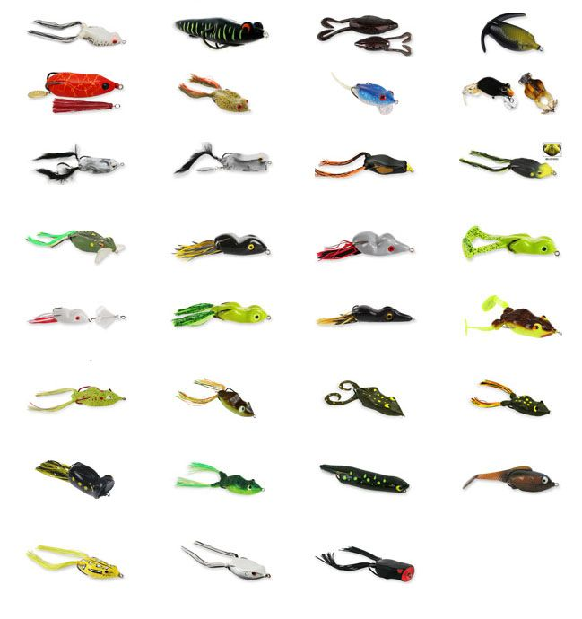 How to Fish Artificial Frogs, Toads and Soft Baits