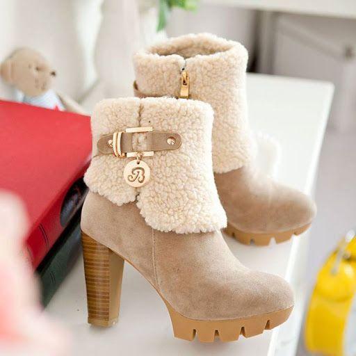Ayyy que lindas #booties para no pasar frio!!!! <3 www.yoamoloszapatos.com   Yo Amo los Zapatos