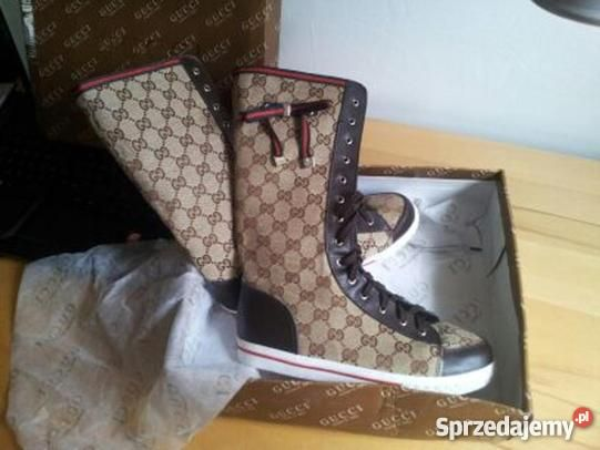 Buty Gucci Nowe Okazja Okazje Gucci High Top Sneakers Top Sneakers Gucci