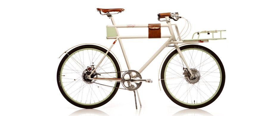 Oh Wow An Electric Bike That Looks Beautiful This Thing