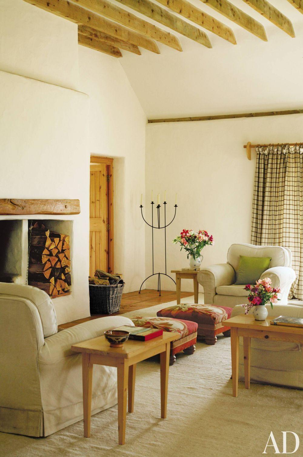 rustic living room in county cork ireland  rustic living