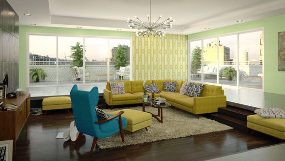 Delicieux Get The Mad Men Look With Mid Century Furniture From Thrive