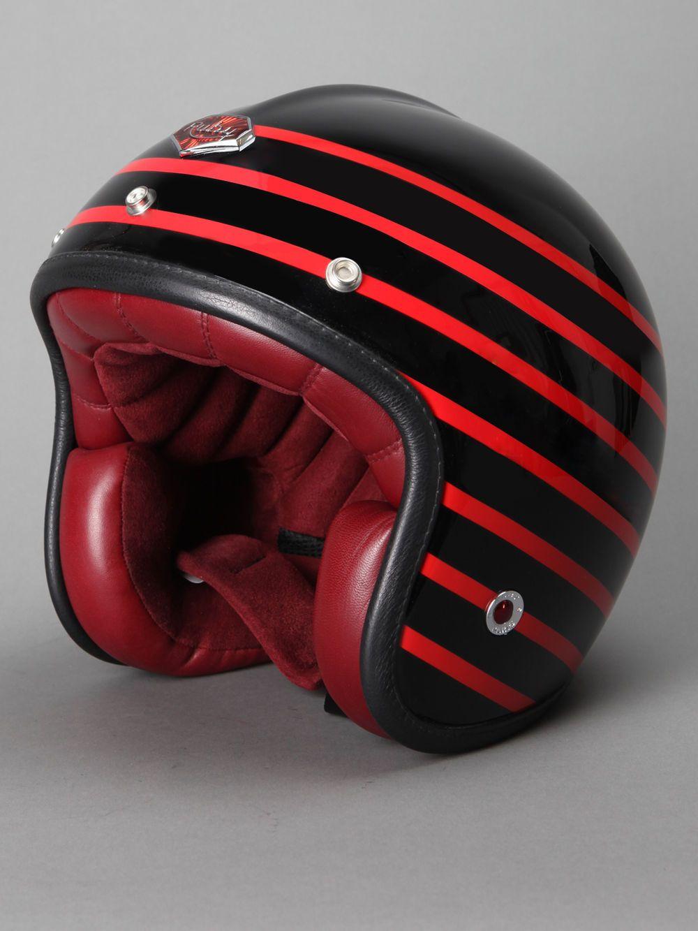 Ruby | 'Pavillon Arsenal' Helmet.