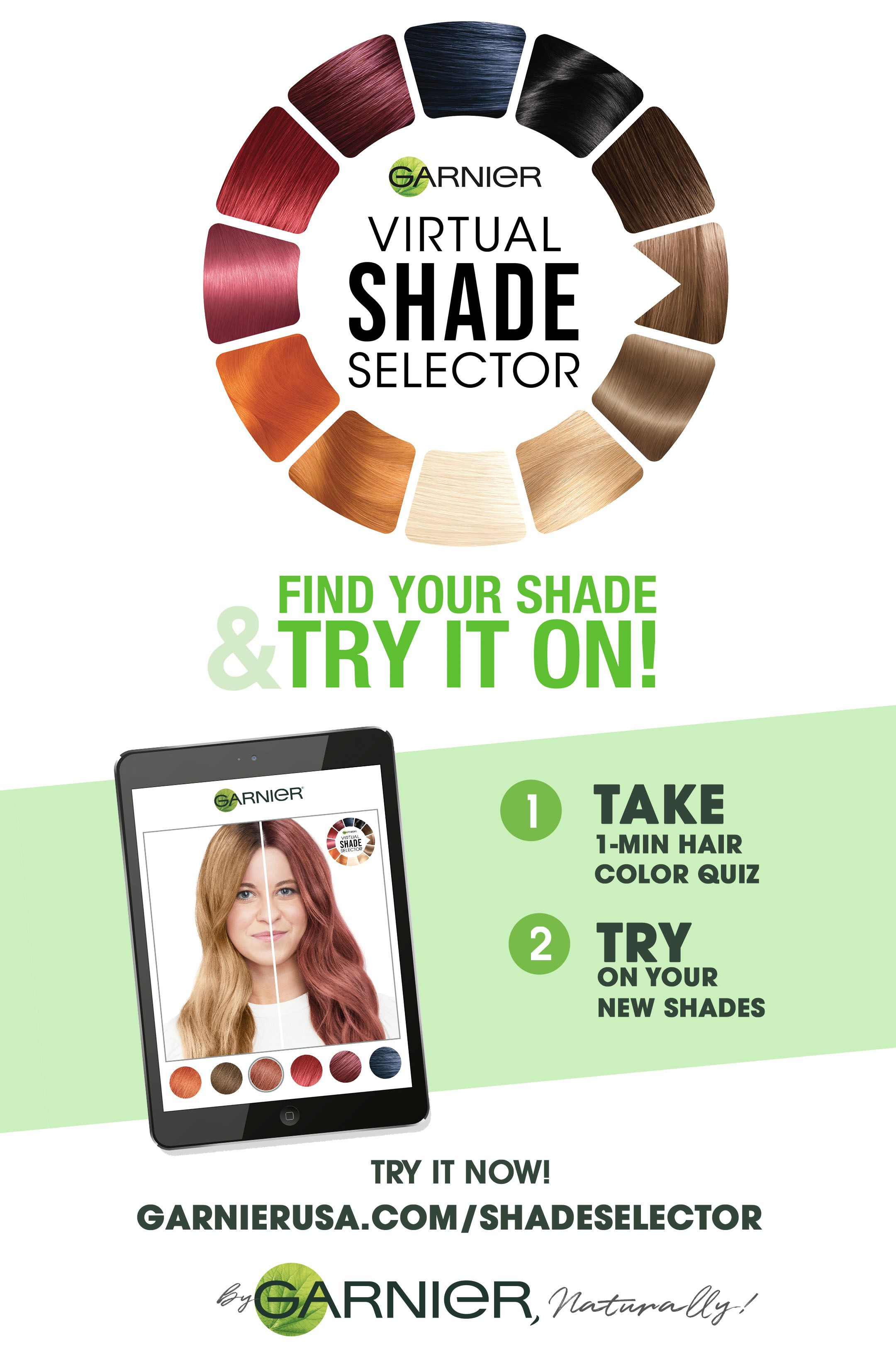 Shade Selector Hair Color Quiz Hair Quiz Perfect Hair Color